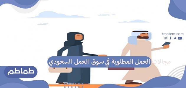 أهم مجالات العمل المطلوبة في سوق العمل السعودي تبعا لرؤية 2030