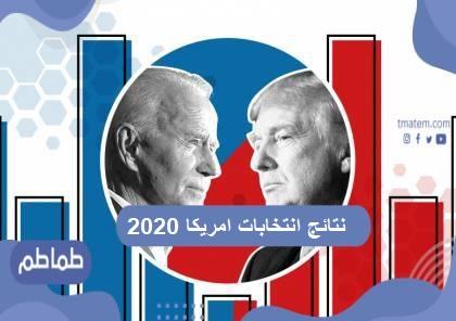 نتائج انتخابات امريكا 2020 .. صراع الانتخابات الأمريكية لعام 2020