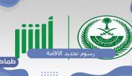 كم رسوم تجديد الاقامة في السعودية وشروطها